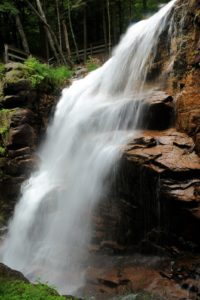 Explore the Franconia Notch State Park in New Hampshire